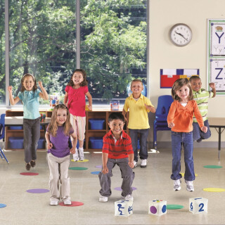 Ready, Set, Move - Classroom Mobility Activity Set