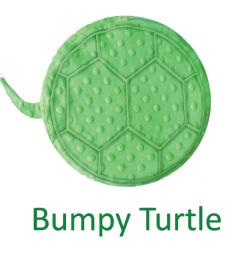 Senseez® Touchable Pillow Bumpy Turle
