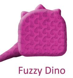 Senseez® Touchable Pillow-Fuzzy Dino