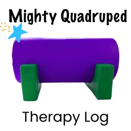 Mighty Quadruped Therapy Log
