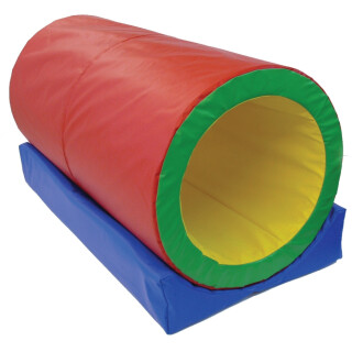 Soft Play Roller Tunnel - Rocking Sensory Toy