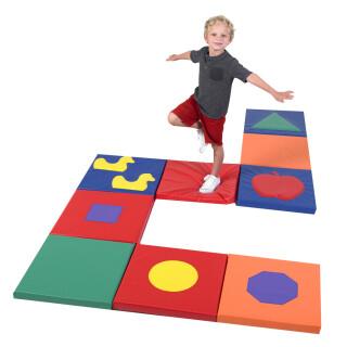 Shape & Play Sensory Mat Squares - Drop Ship