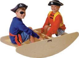 Zibajoči čoln s stopnicami