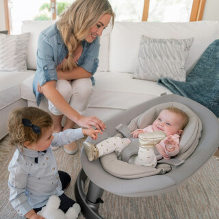 New Leaf Grow - Baby Bouncer to Child Recliner