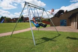 Double Outdoor Swing