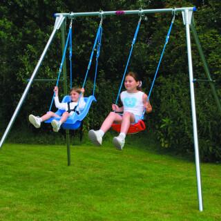 Double Width Swing Frame - EN1176 Certified