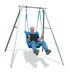 Single Swing Frame - EN1176 Certified