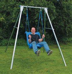 Single Galvanized Steel Swing Frame (Frame only) OUT OF STOCK