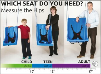 All Ages, Full Support Swing Seats