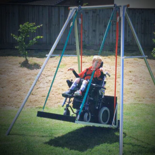 Wheelchair Accessible Swing & Frame