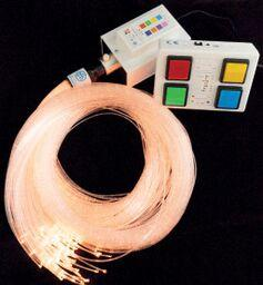 Wireless Controlled Fiber Optic Spray