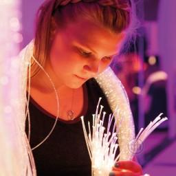Fibre Optic Tails, 200 Strands, Sparkle and Interactive Choices