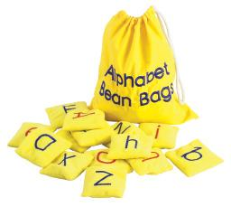 Alphabet Beanbags