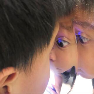 Convex Mirror 4 - Self Awareness Sensory Toy
