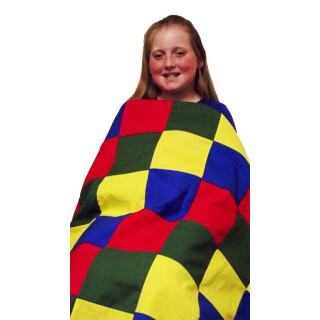 Bold Pieced Top Weighted Blanket