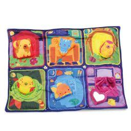 Bright Snuggly Activity Blanket