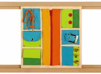 Closures Sensory Wall Activity Panel