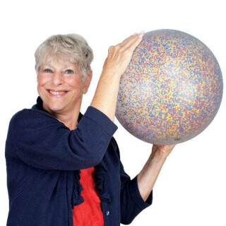 Confetti Sensory Rain Ball
