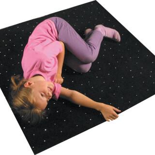 1m Sq Fibre Optic Carpet - Interactive Sensory Toy