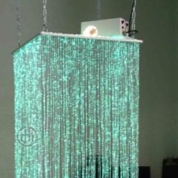 Fibre Optic, Waterfall Ceiling Suspended