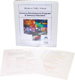 AVS Sensory Development Program Additional Checklists (set of 30)