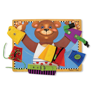Sensory Dressing Bear Toy