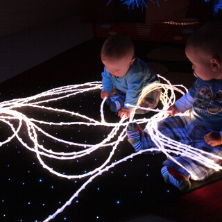 Stariflex Knotted Fibre Optic Tails - Interactive