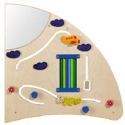 Learning & Sensory Wall - Right Quarter Circle