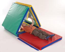 Folding Mirror Den & Play Mat