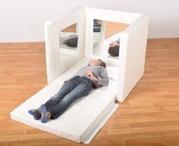 Softplay Mirror Den - 80cm Cube