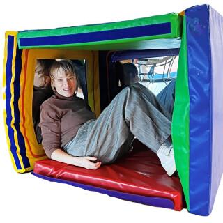 Folding Mirror Den & Play Mat
