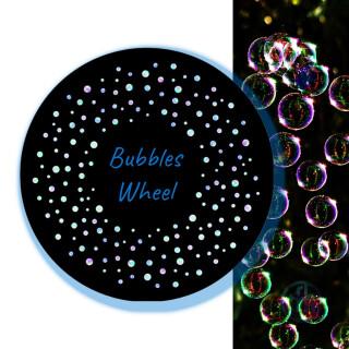 Projector Effect Wheel, Coloured Bubbles
