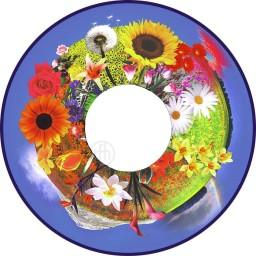 Effects Wheel, Grandmas Flower Garden