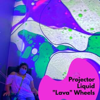 Projector Wheels - Liquid Lava Options