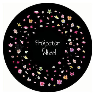 Projector Effects Wheel, Blossom Flowers