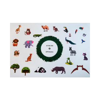 Effekthjul Gör ditt eget hjul - zoo 15cm  Ø