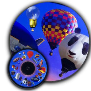 Effects Wheel, Hot Air Balloons