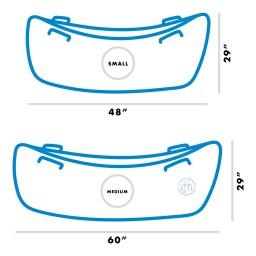 Harkla Hug Boat - Inflatable Peapod