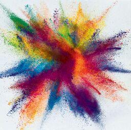 Madrass - explosion 120x120cm