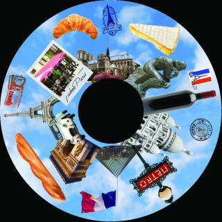 6 Inch Projector Wheel - Paris Scene