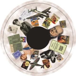 6 Inch Projector Wheel - Down Memory Lane Scene