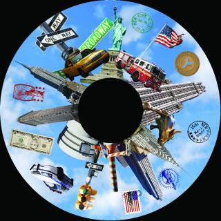 6 Inch Projector Wheel - New York Scene