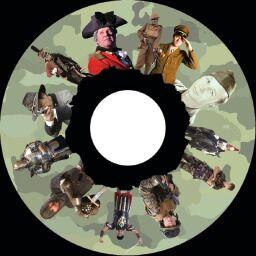 6 Inch Projector Wheel - Soldiers Scene
