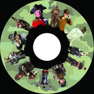 6 Inch Projector Wheel - Soldiers Scene