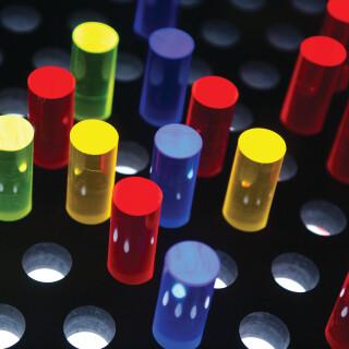 Illuminating Rod Wall Sensory Toy