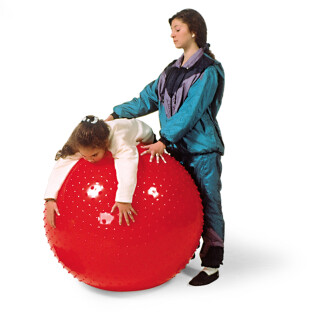 Large Therapy Sensory Ball, Red, 100cm