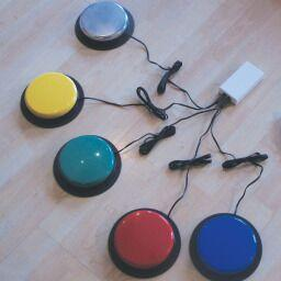 Individual Colour Control Buttons
