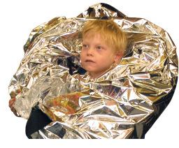 Space Blanket - Eye Candy Special Needs Toy