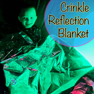 Crinkly Reflection Blanket