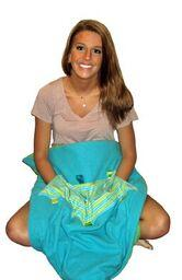 Soft Touch Weighted Blanket-Small Blue/Green